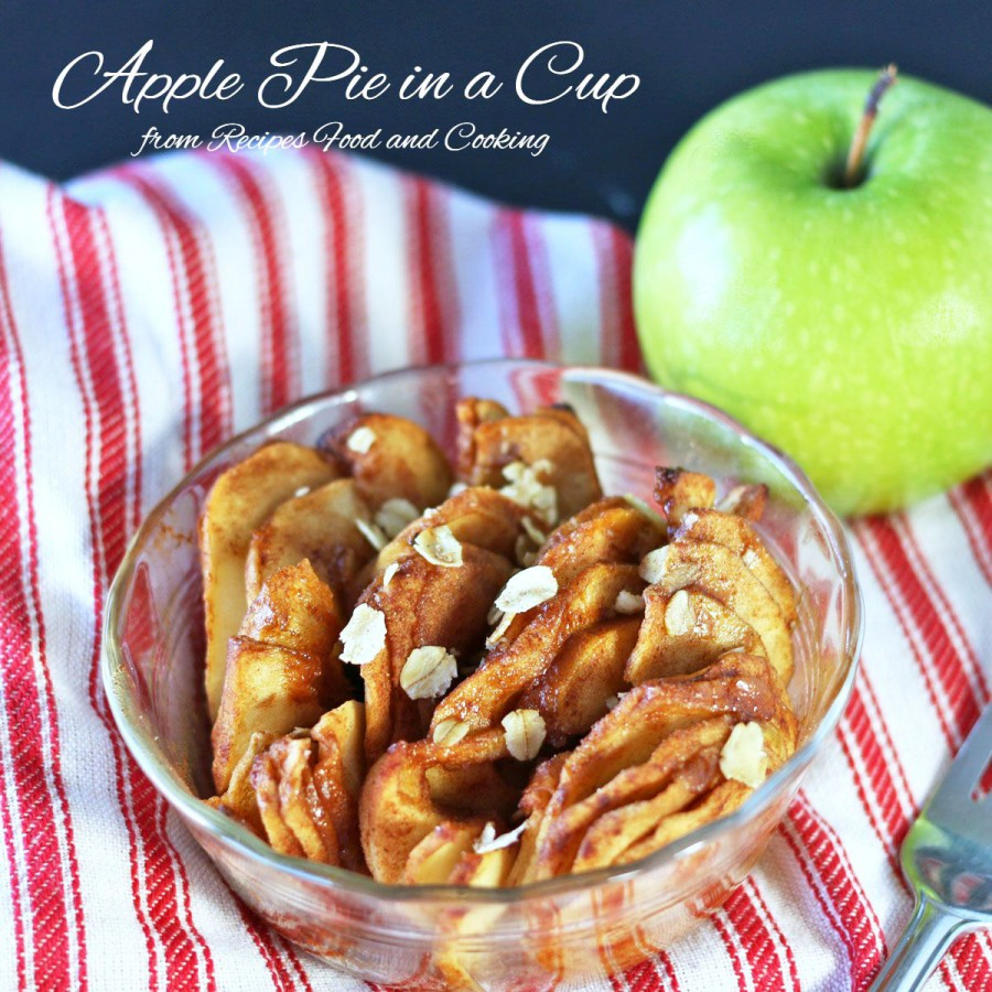 Apple Pie In a Cup
