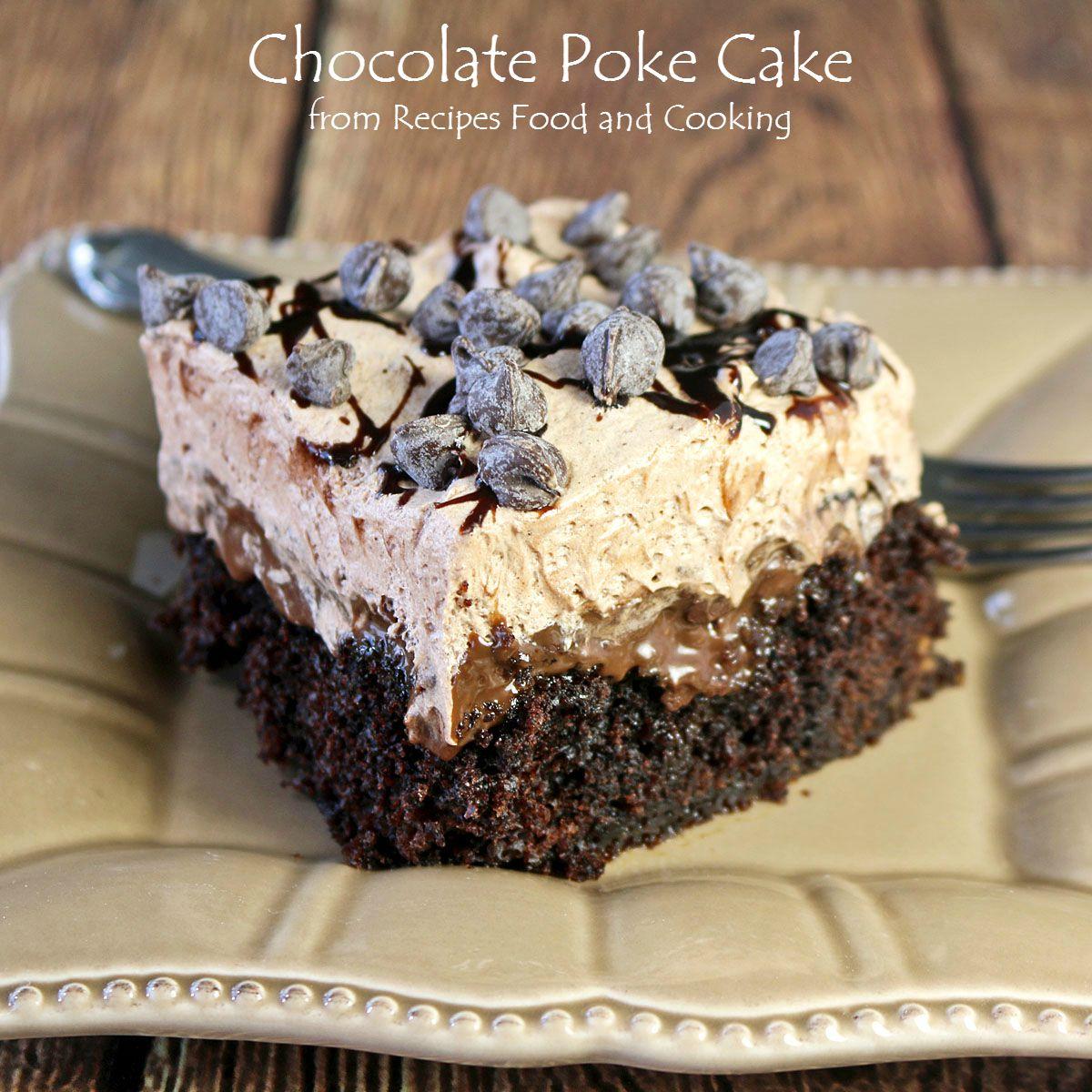 Easy Chocolate Chip Chocolate Cake Recipe
