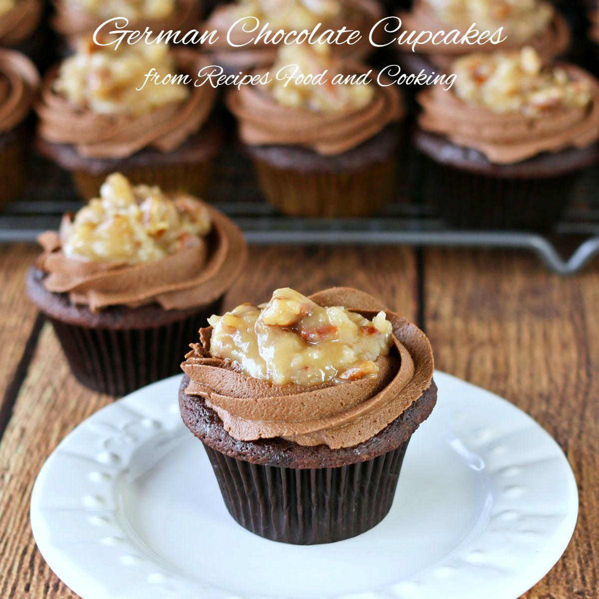 German Sweet Chocolate Cake Frosting