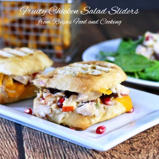 Fruity Chicken Salad Sliders