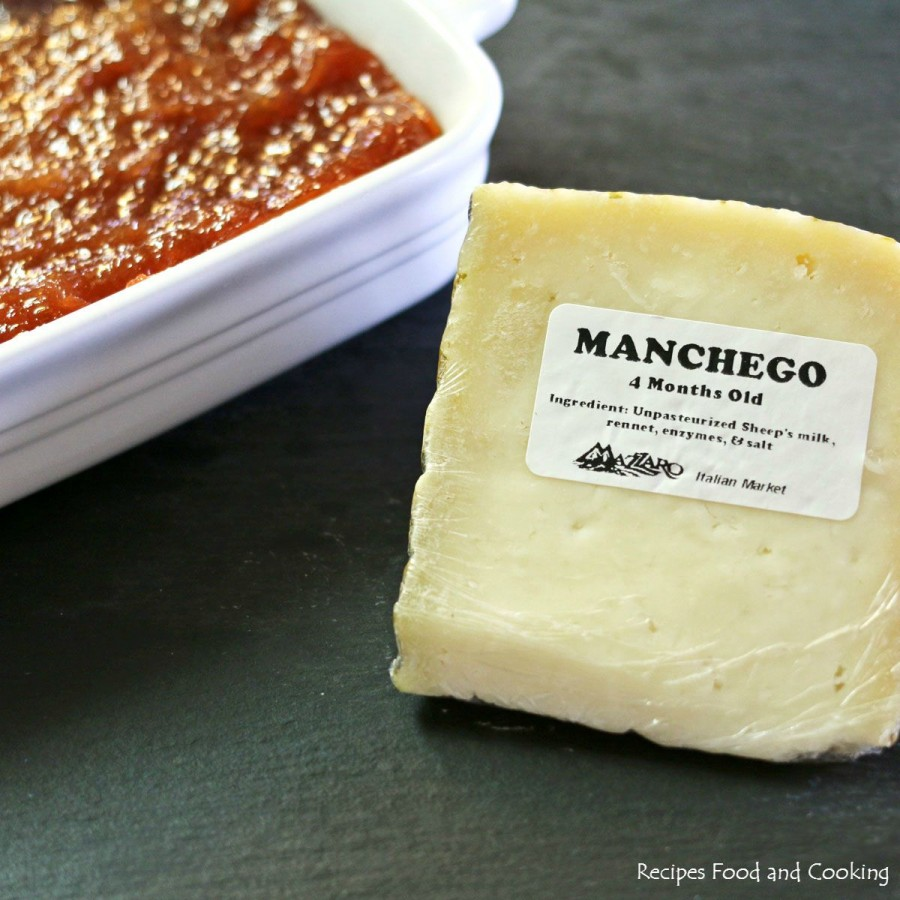 Membrillo (aka Quince Paste) with Manchego Cheese