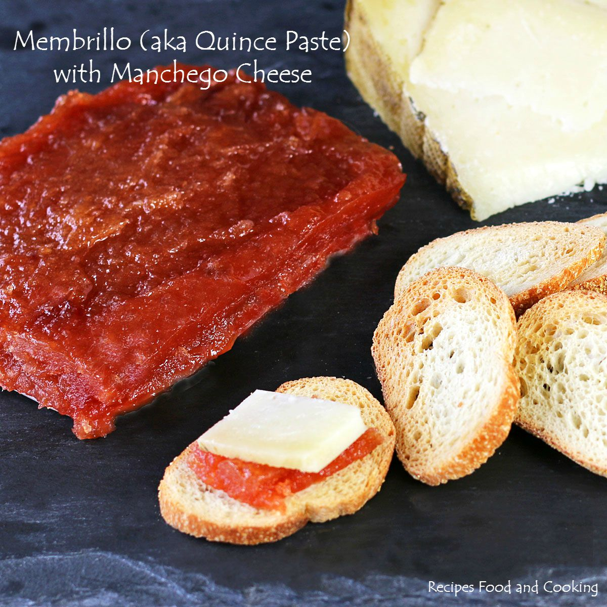 Membrillo aka quince paste with manchego cheese recipes food and membrillo aka quince paste with manchego cheese forumfinder Choice Image