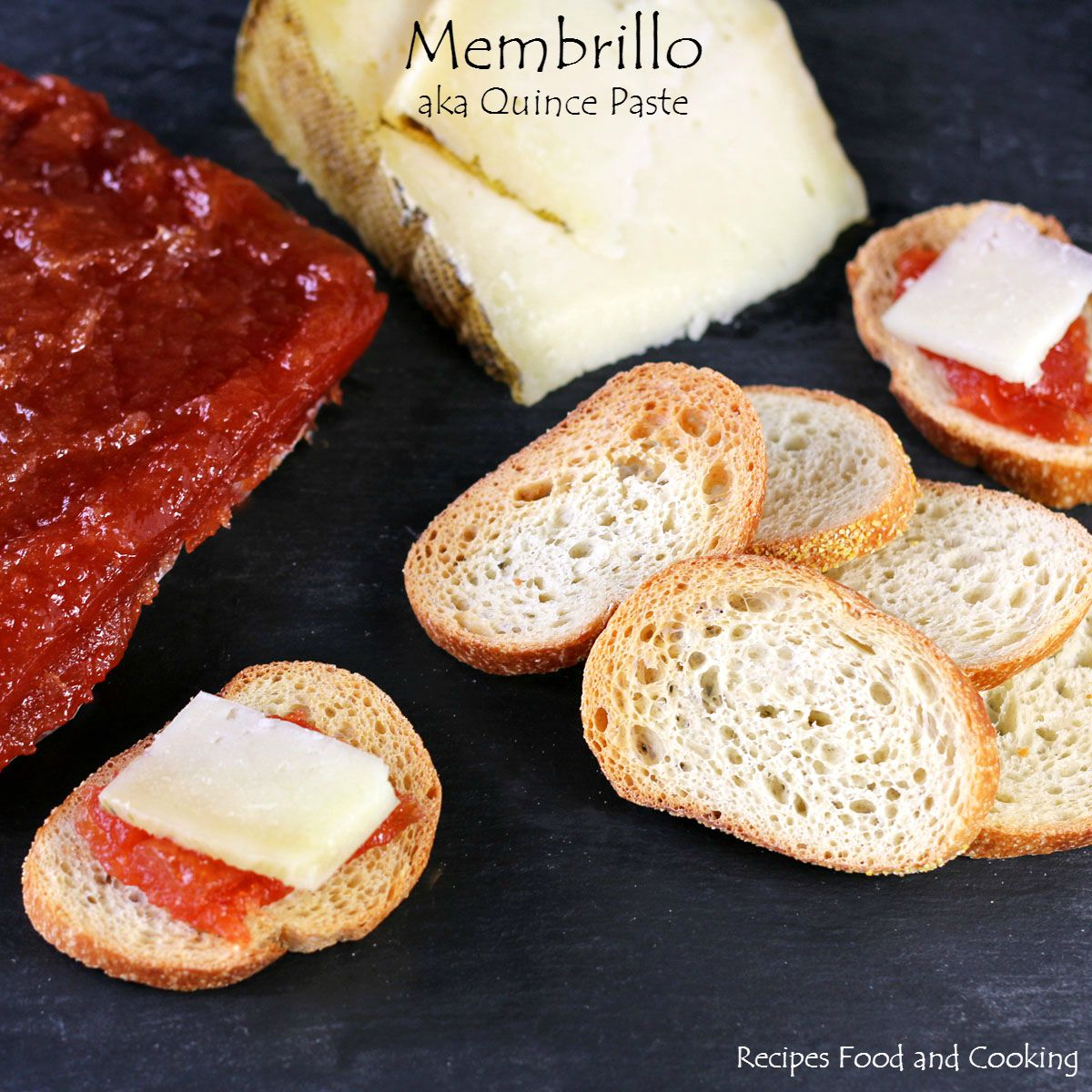 Membrillo (aka Quince Paste) with Manchego Cheese - Recipes Food and ...