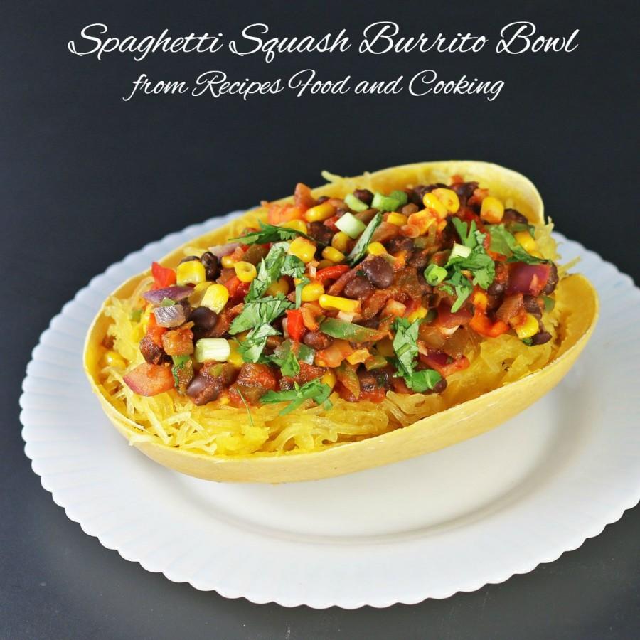 Spaghetti Squash Burrito Bowl