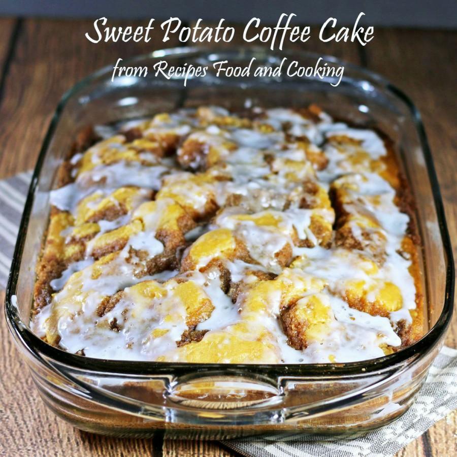 Sweet Potato Coffee Cake
