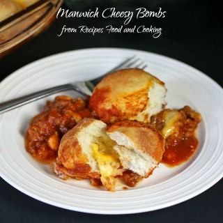 Manwich Cheesy Bombs