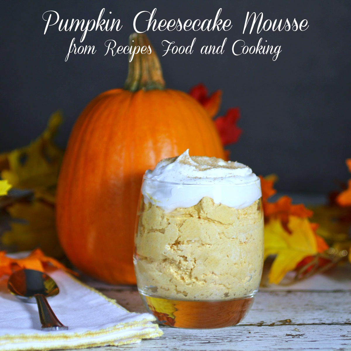 Pumpkin Cheesecake Mousse #PumpkinWeek - Recipes Food and Cooking