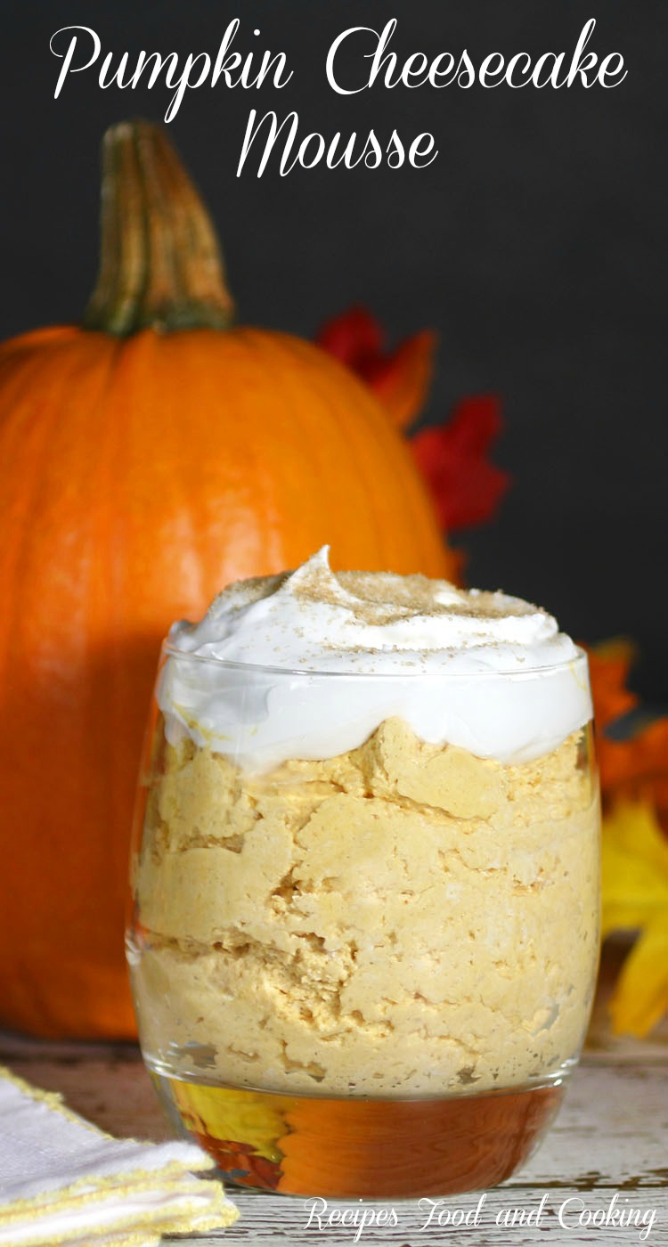 Pumpkin Cheesecake Mousse Pumpkinweek Recipes Food And