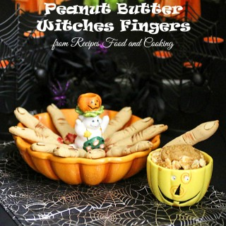 Peanut Butter Witches Fingers