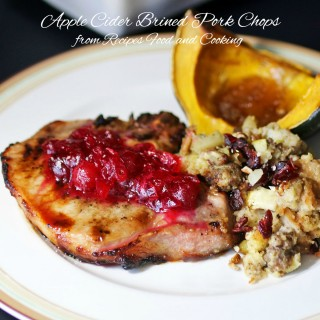 Apple Cider Brined Pork Chops