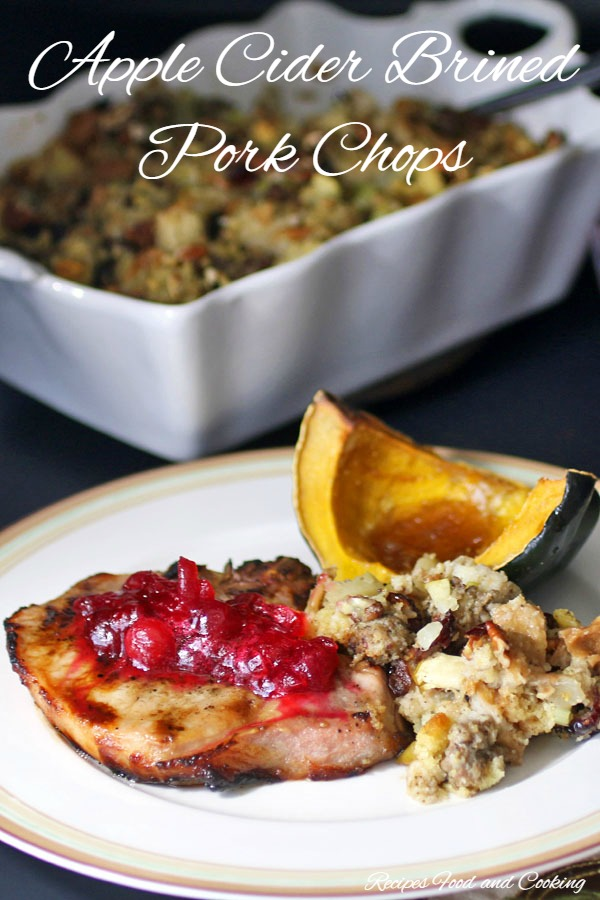 Apple Cider Brined Pork Chops - Recipes Food and Cooking