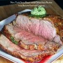 New York Strip Roast with Gremolata Butter