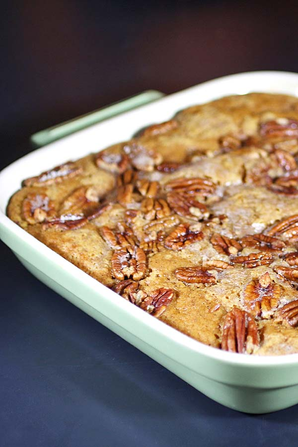 Pumpkin Pecan Cobbler Recipes Food And Cooking
