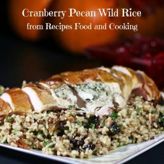 Cranberry Pecan Wild Rice