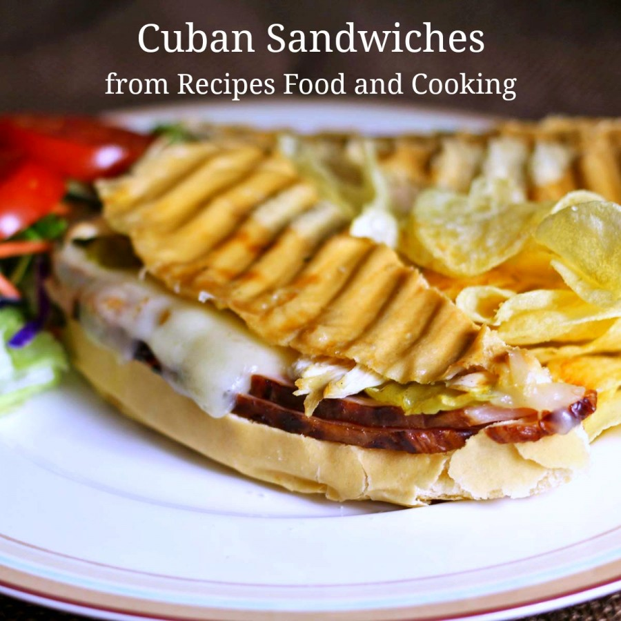Cuban Sandwiches #ForTheLoveOfHam - Recipes Food and Cooking