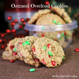 Oatmeal Overload Cookies