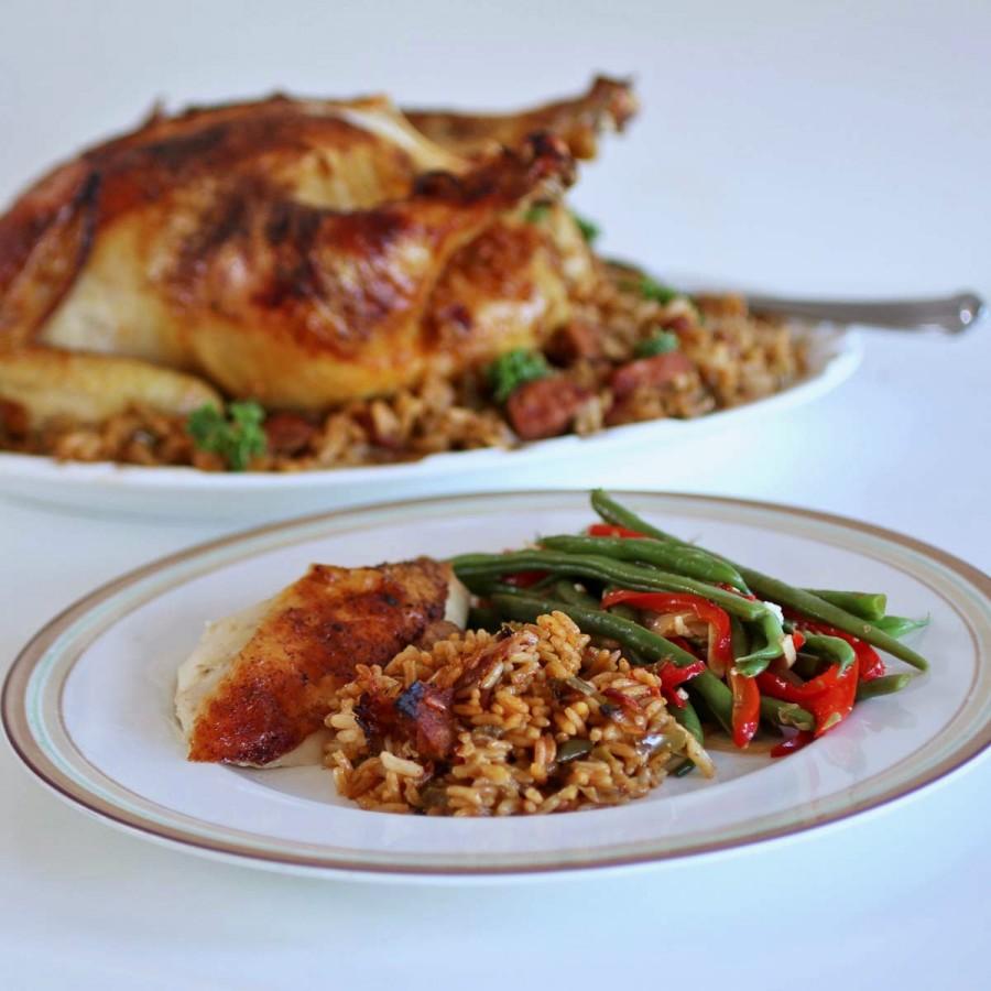 Zatarain's Roasted Chicken and Jambalaya