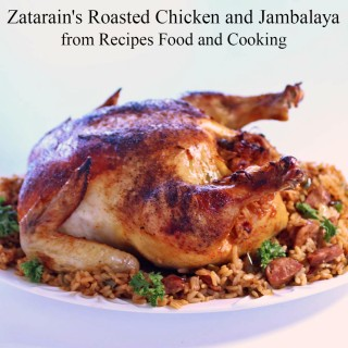 Zatarain's Roasted Chicken and Jambalaya