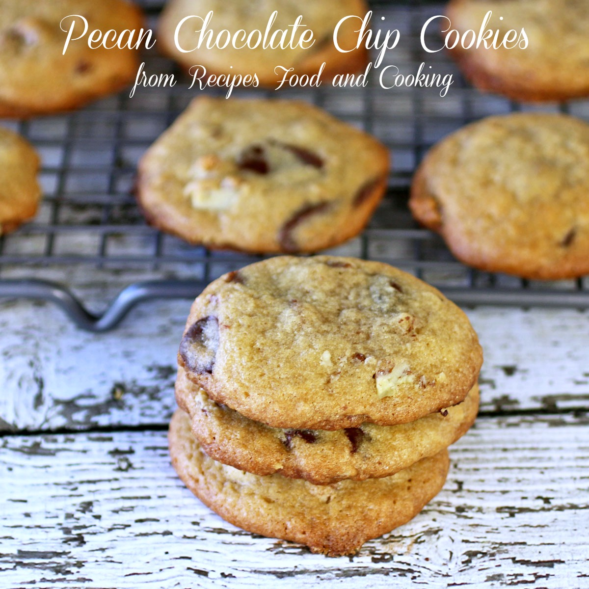 Pecan Chocolate Chip Cookies