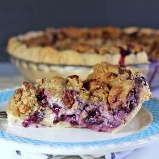 Blueberry Cream Pie