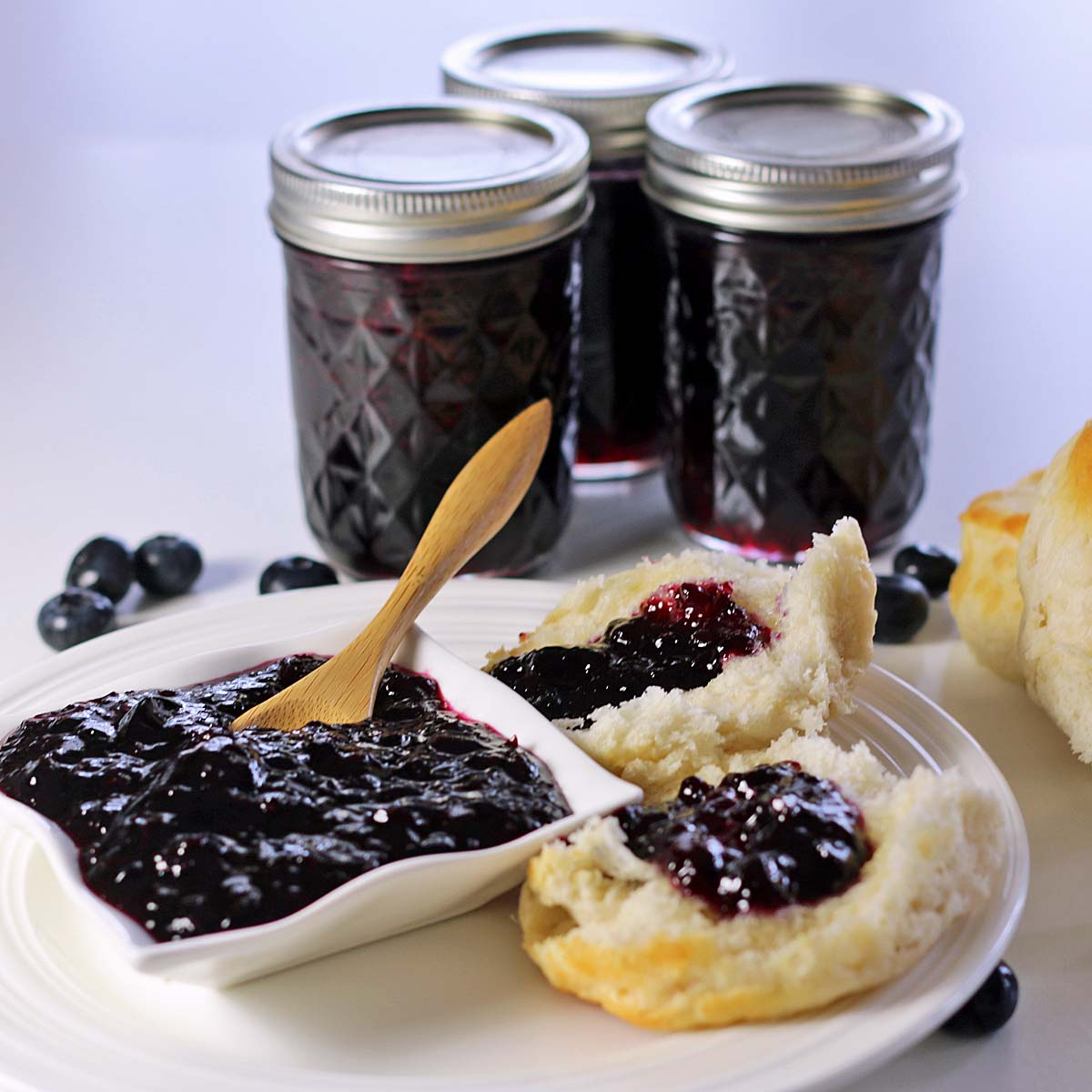 Blueberry Jam - Recipes Food and Cooking