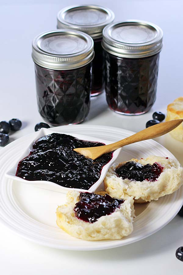 Blueberry Jam Recipes Food And Cooking