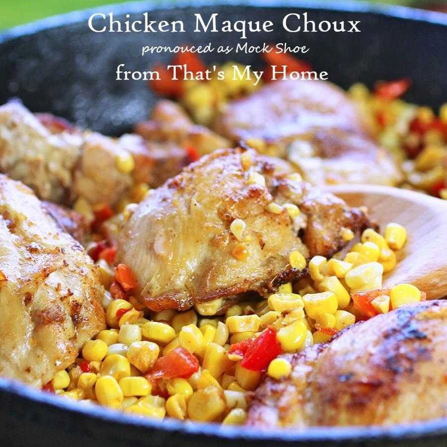Chicken Maque Choux