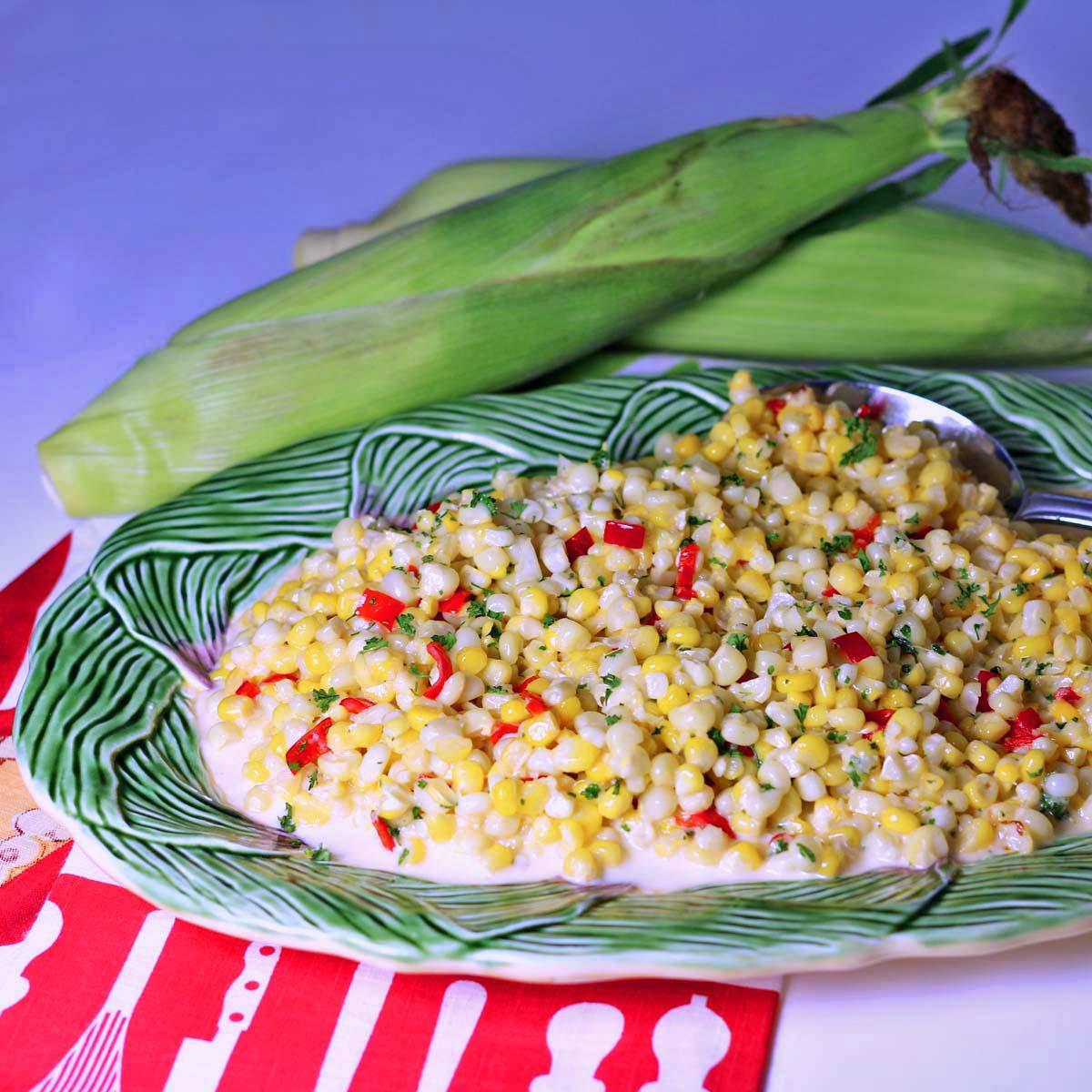 Fried Sweet Corn
