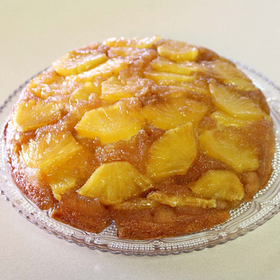 Pineapple Upside Down Cake Using X Pan