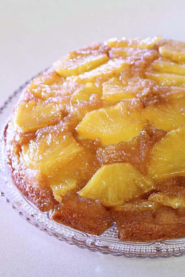 Bisquick Fresh Pineapple Upside Down Cake