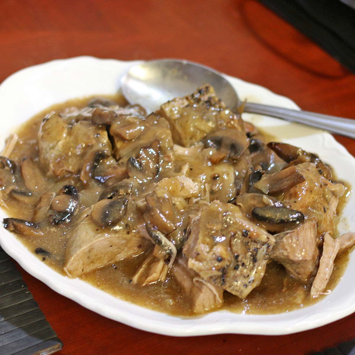 Crock Pot Pork Tenderloin Marsala