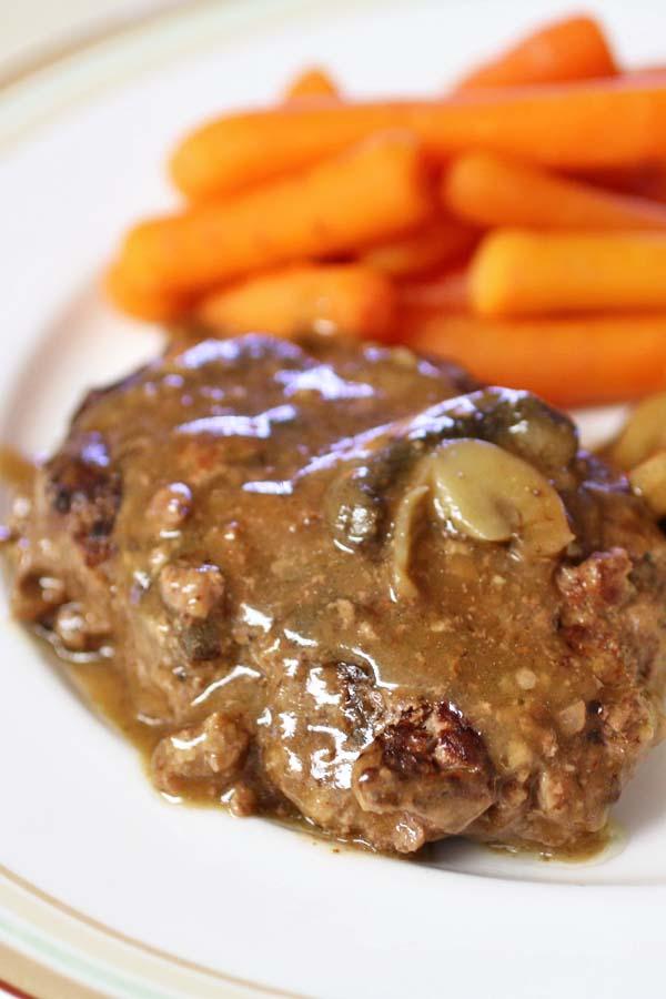 Salisbury Steaks with Mushrooms