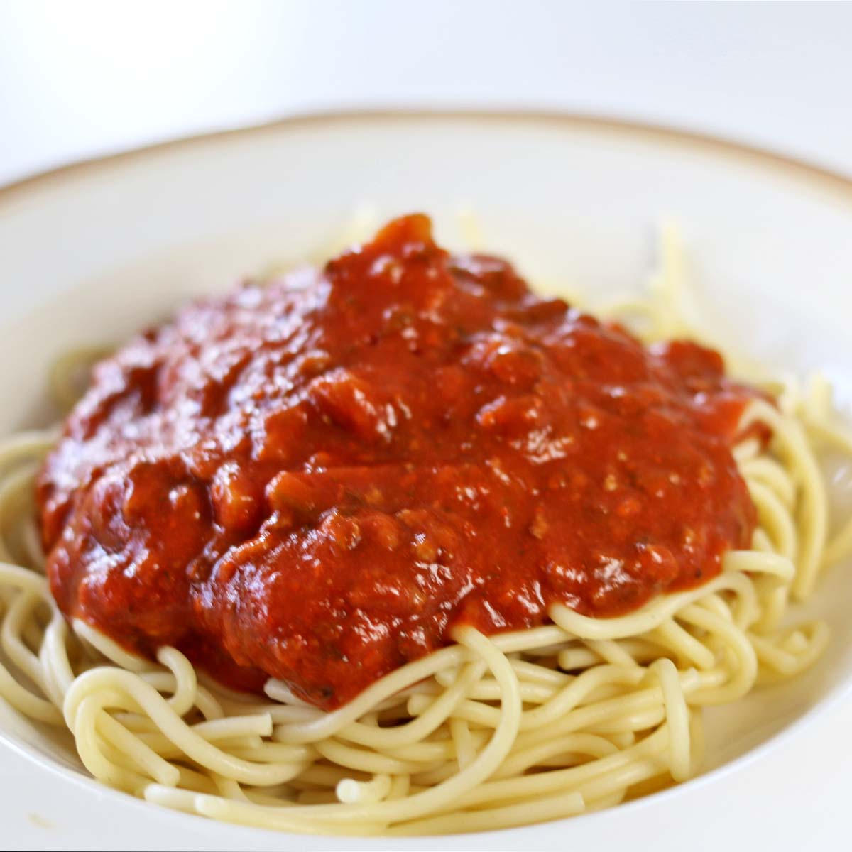 Spaghetti with Meat Sauce - Recipes Food and Cooking