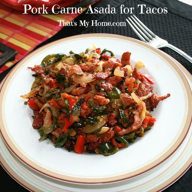 Pork Carne Asada