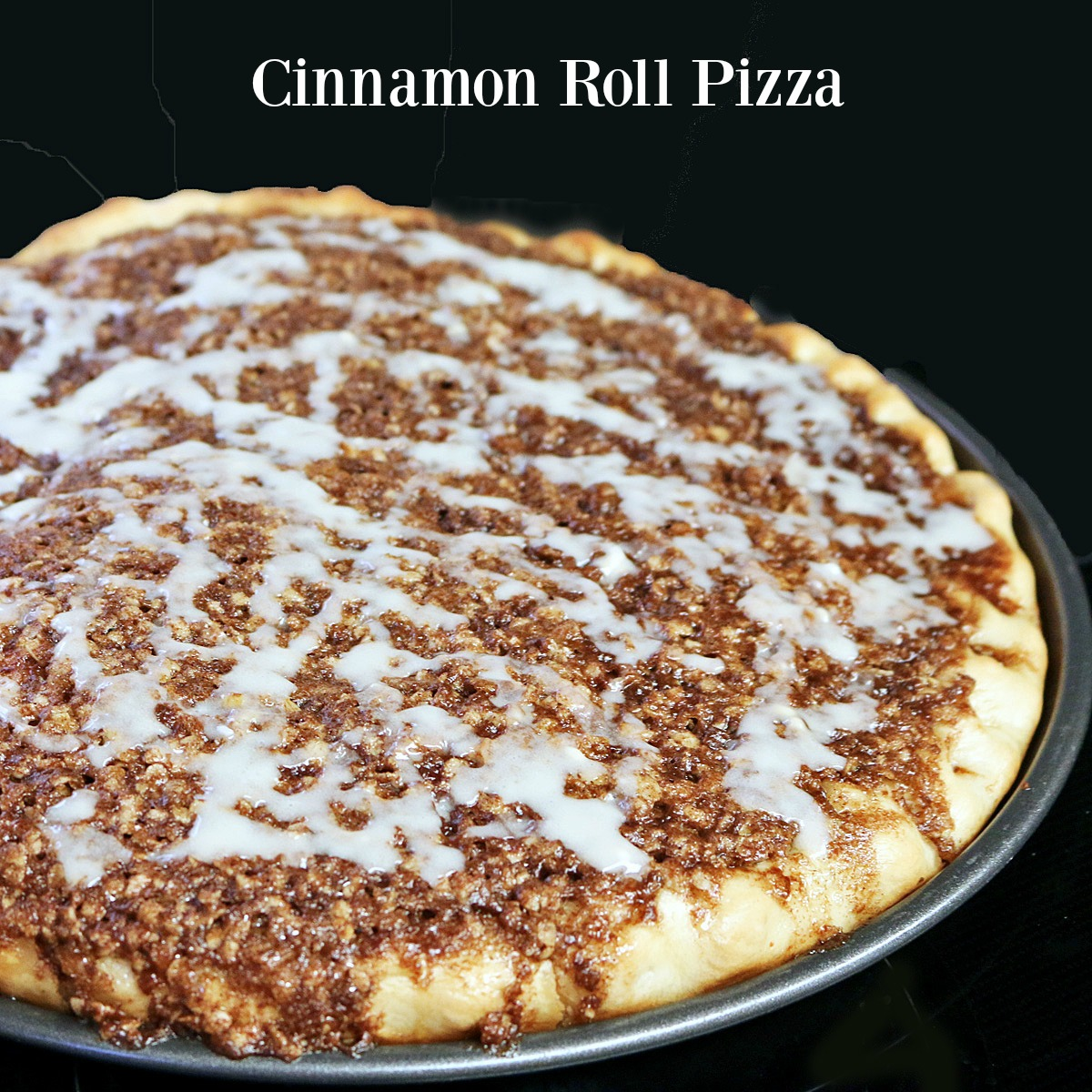 Cinnamon Roll Pizza #SundaySupper