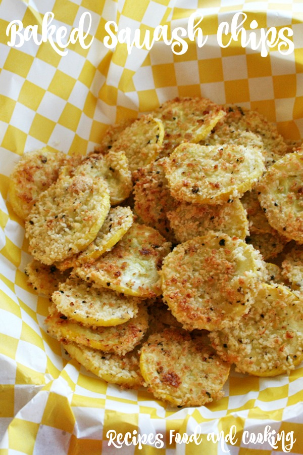 Baked Squash Chips