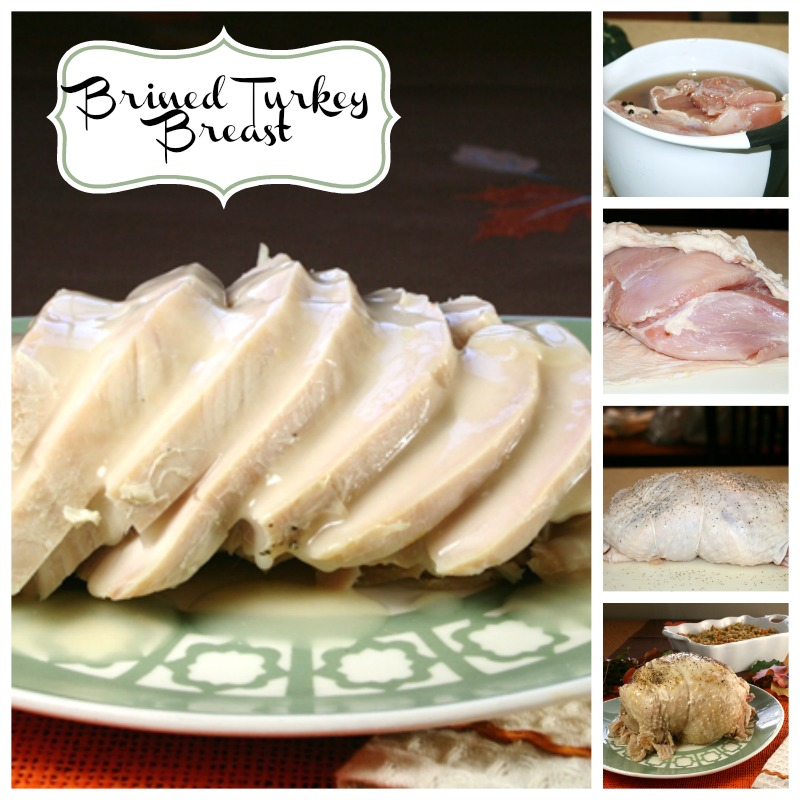 Brined Turkey Breast and Cooking it in the Crockpot
