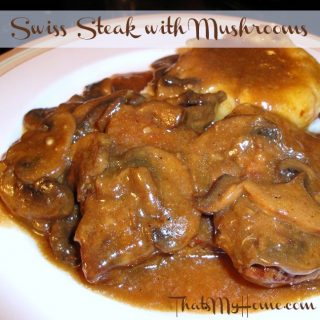 Swiss Steak with Mushrooms