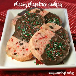 Cherry Chocolate Cookies