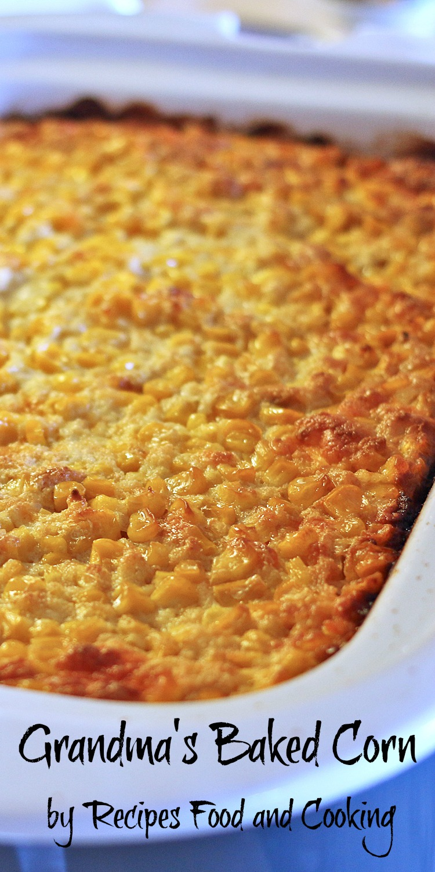 Grandma's Baked Corn