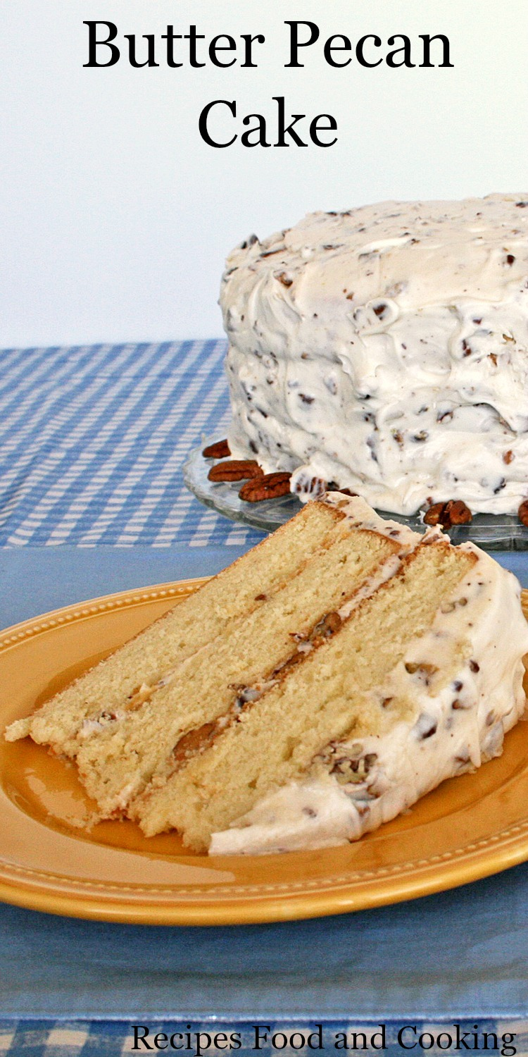 Butter Pecan Cake Recipe Facebook