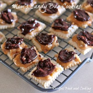 Mom's Candy Bar Cookies