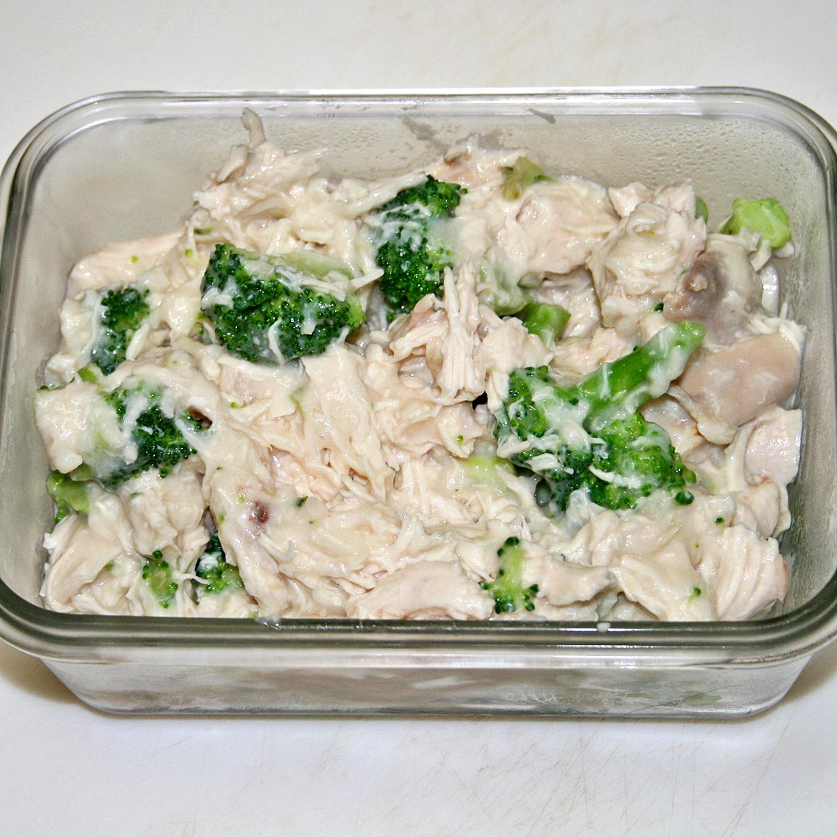Chicken and Broccoli Strudel