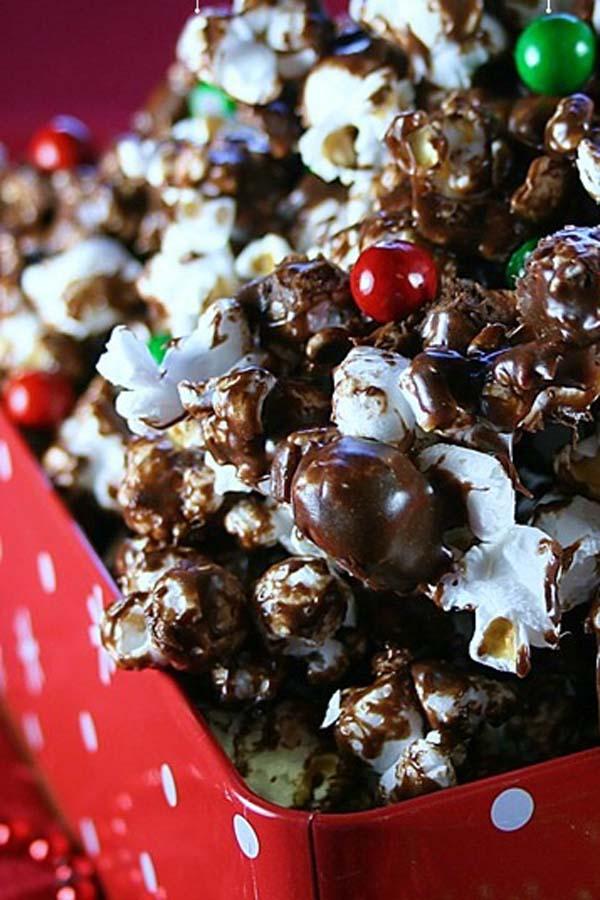 Chocolate Marshmallow Popcorn