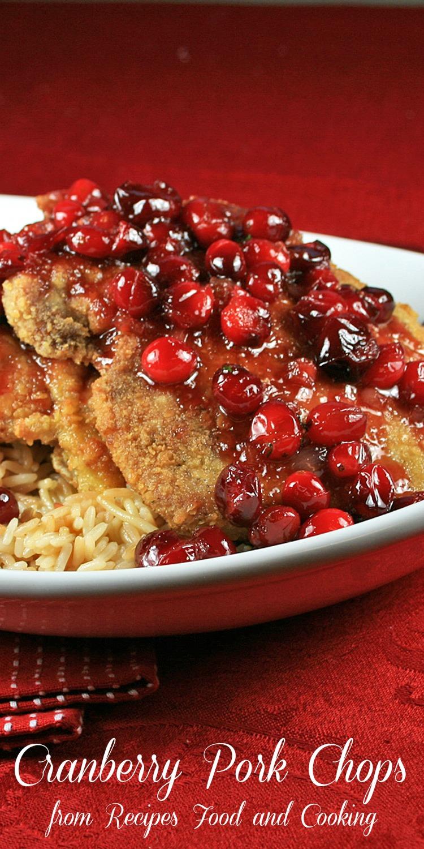 Cranberry Pork Chops
