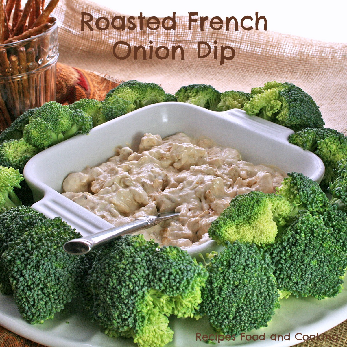 Roasted French Onion Dip
