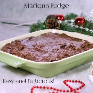 Marion's Fudge