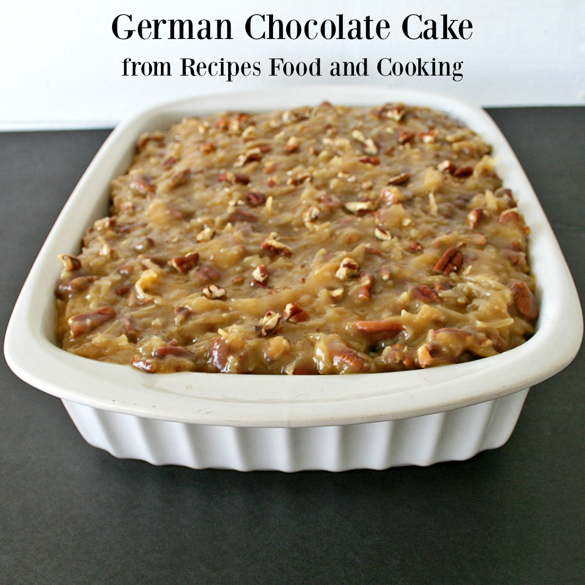 German Chocolate Cake Frosting Southern Living