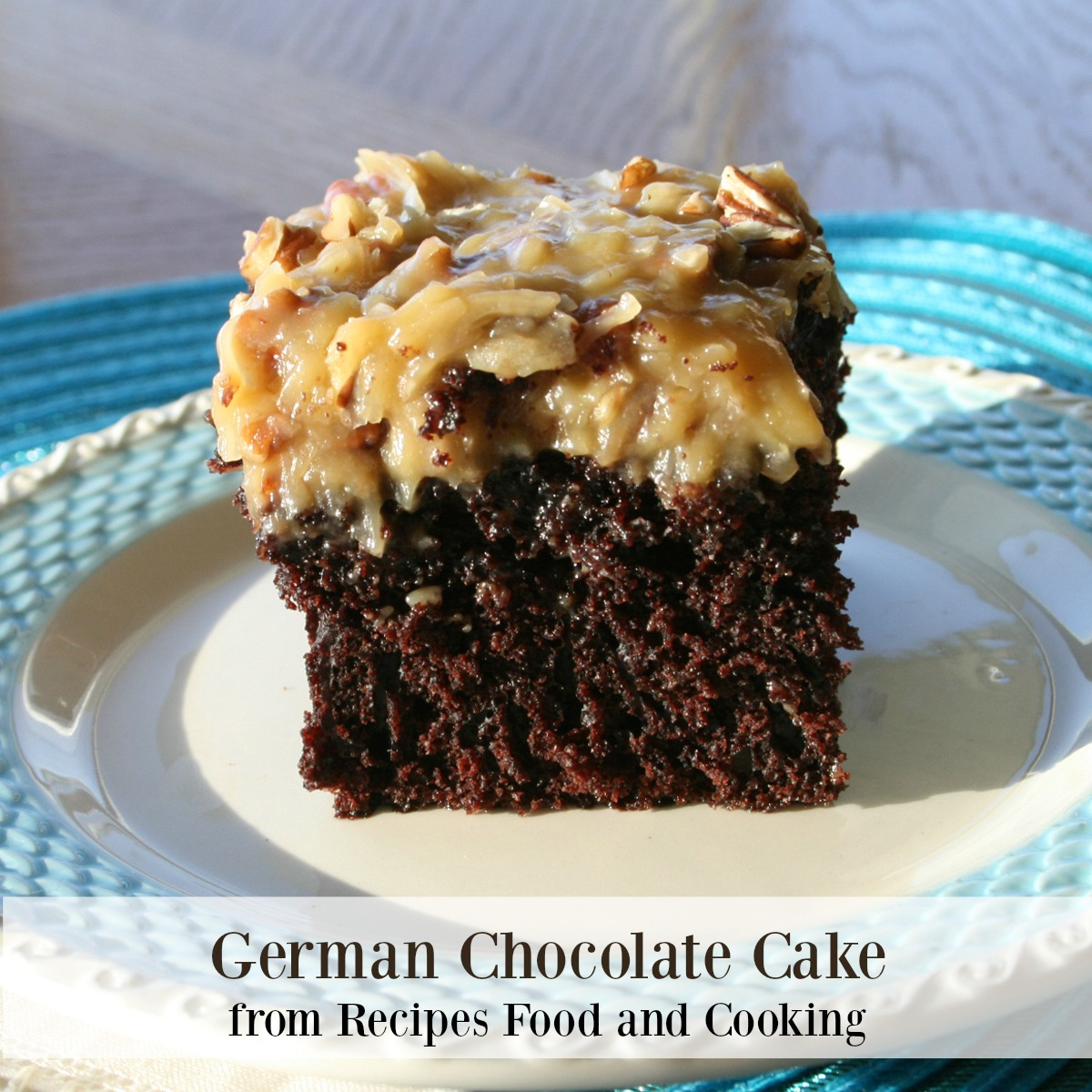 Permalink to Moist German Chocolate Cake Recipe