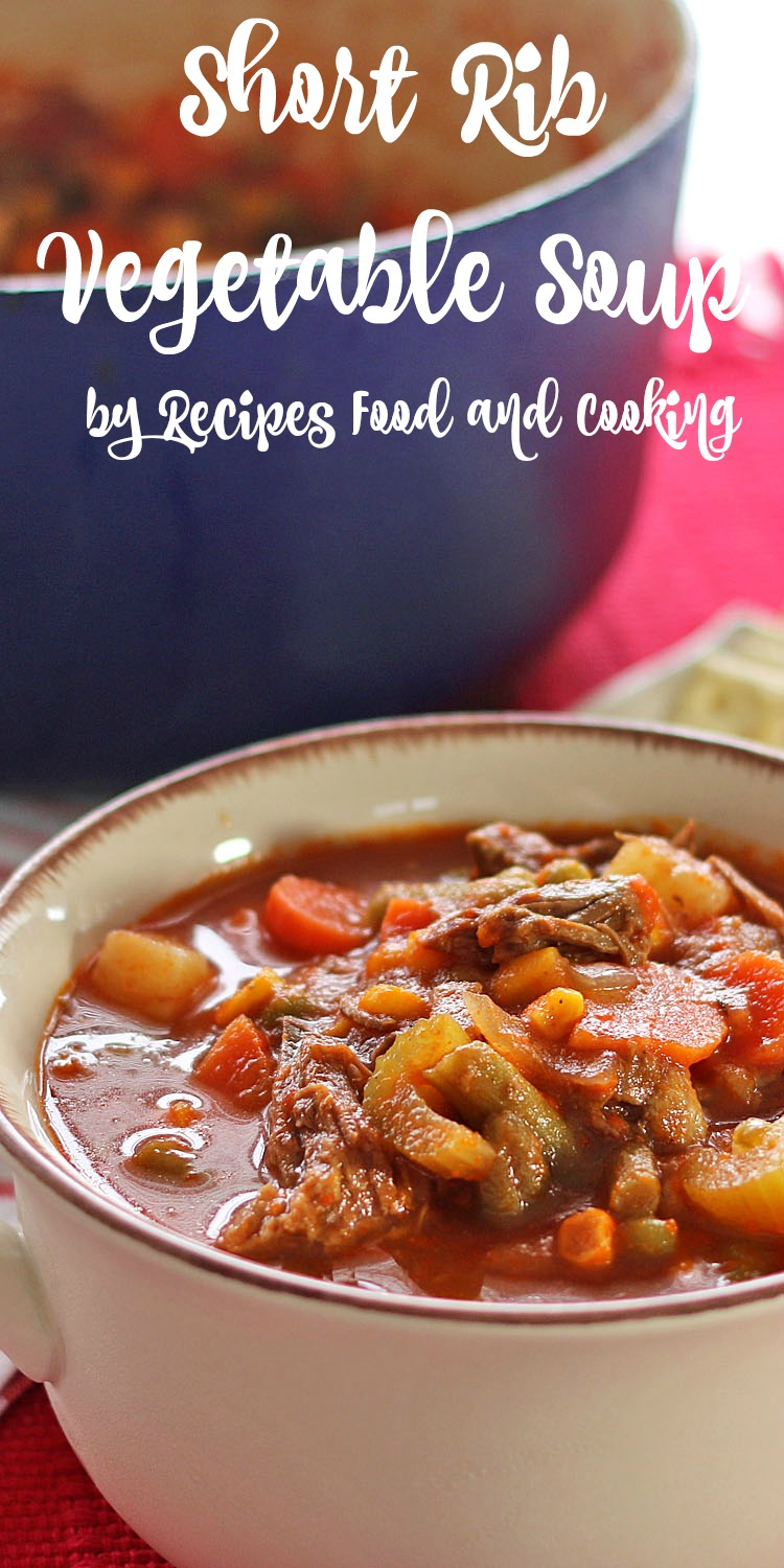 Short Rib Vegetable Soup